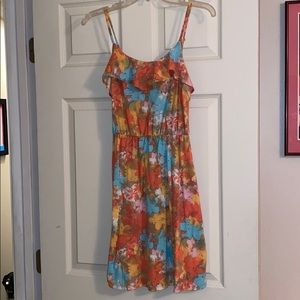 Mossimo floral dress, women's size small!